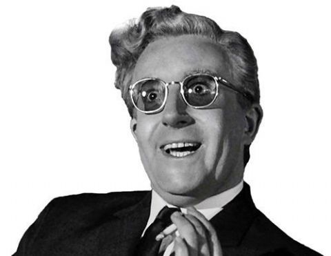Dr Strangelove Peter Sellers T-Shirt. Gents Ladies Kids Sizes Kubrick Film Movie